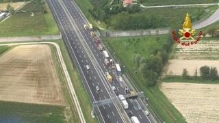 Mestre, secondo incidente sul Passante: traffico in tilt