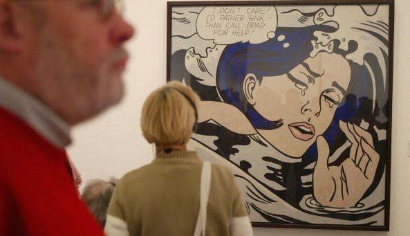 La mostra dedicata alla Pop Art di Lichtenstein è in corso presso il Museo delle Culture di Milano.
