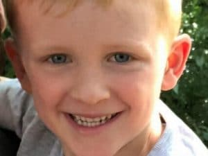 Noah Blodwell, 5 anni (Facebook).