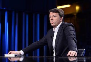 """Renzi: """"Chiediamo dimissioni di Salvini non per il figlio, ma per i 49 milioni, i russi e l'odio"""""""