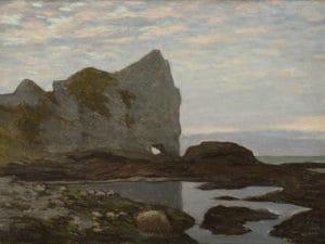 Claude Monet, Barche sulla spiaggia di Étretat, 1883, Olio su tela, 65x81 cm, Fondation Bemberg, Toulouse