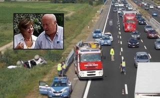 A14, incidente al rientro dalle vacanze: Marisa muore sul colpo, il marito estratto vivo dopo 4 ore