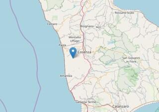 Terremoto Cosenza, forte scossa: magnitudo 3.4. Avvertita da tutta la popolazione