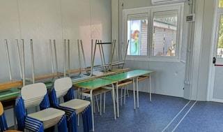 In Liguria gli studenti delle medie vanno a scuola nei container