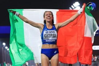Atletica, Mondiali 2019: Eleonora Giorgi medaglia di bronzo nella 50 km di marcia