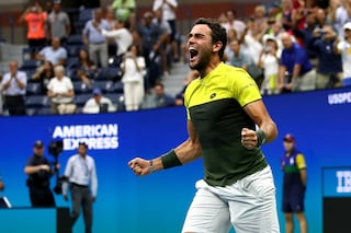 US Open Tennis, capolavoro Matteo Berrettini: 7-6 al tie-break a Monfils, è in semifinale