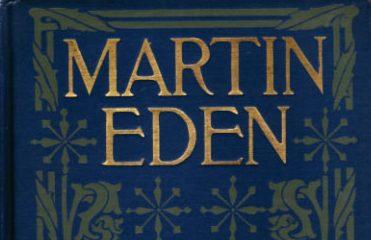 """La copertina della prima edizione di """"Martin Eden"""" del 1909."""
