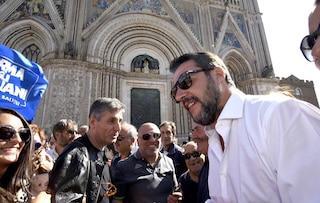 """Salvini a Di Battista: """"Non mi sono mai montato la testa, io la gente la incontro tutti i giorni"""""""