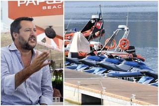 Figlio di Salvini su moto d'acqua polizia, avviato procedimento contro l'agente