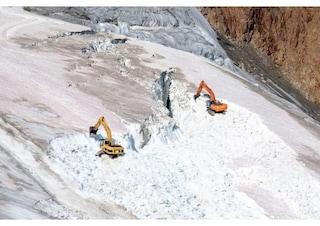 L'Austria sta distruggendo un ghiacciaio sulle Alpi per realizzare piste da sci