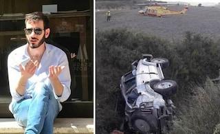 Dramma a Siena, l'auto sbanda e finisce nella scarpata: Attilio muore a 24 anni, grave l'amico