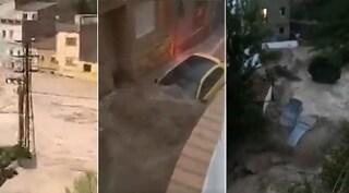 Maltempo in Spagna, nubifragi e alluvioni: tre morti intrappolati in auto