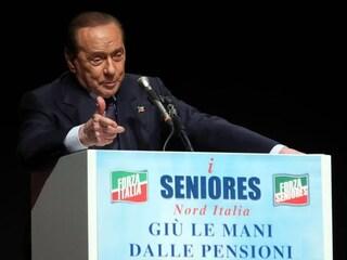 """Berlusconi: """"Lega e fascisti non vincono senza Forza Italia, li abbiamo legittimati noi"""""""