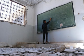 """Il futuro negato ai bambini della Siria: """"Le nostre scuole distrutte dalle bombe"""""""