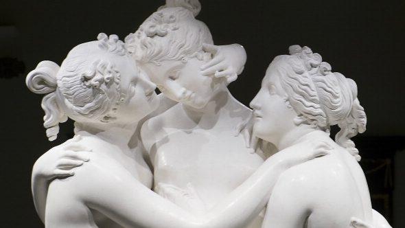 """Antonio Canova fa parte dell'esposizione """"L'Ottocento Nascosto"""" alle Gallerie d'Italia di Milano."""