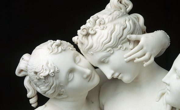 """I capolavori di Antonio Canova saranno in mostra con """"L'eterna bellezza"""" a Palazzo Braschi, a Roma, dal 9 ottobre 2019."""