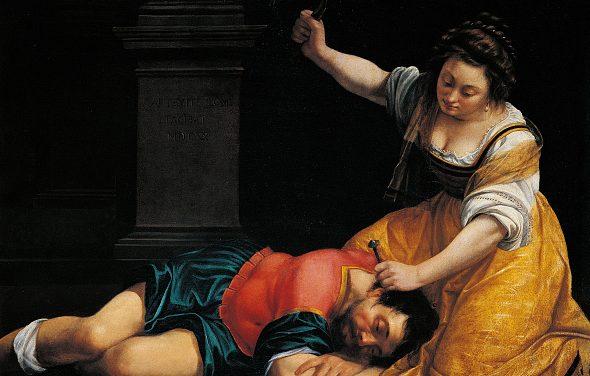 """Artemisia Gentileschi, """"Giaele e Sisara"""" (1620)."""