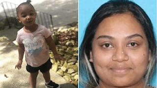 USA, bimba di 2 anni scomparsa. La polizia la trova morta: era stata rapita dall'amante del padre