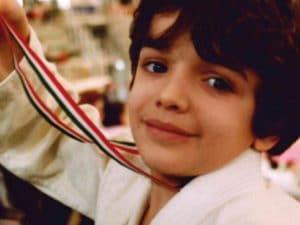 Il piccolo Federico Barakat