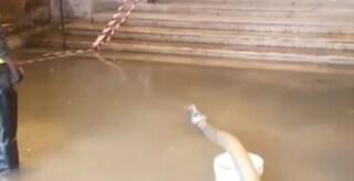 Maltempo a Ferrara: violento nubifragio allaga la città, anche il Duomo invaso dall'acqua