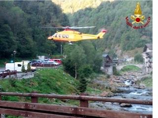 Incidente in Valsesia, morti marito e moglie: traditi dal terreno scivoloso e precipitati