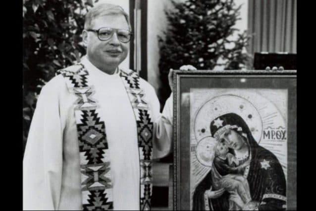 Arthur Perrault nel 1989, l'epoca in cui ha violentato decine di minori (The Albuquerque Journal/AP)