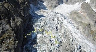 Allarme ghiacciaio Monte Bianco: rischia di crollare sulle case