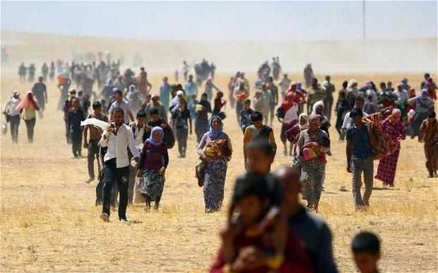 Oltre mezzo milione di yazidi è scappata nell'estate del 2014 di fronte all'avanza dell'Isis nel nord dell'Iraq