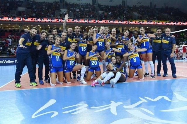 Europei donne, Italia di bronzo, 3-0 alla Polonia