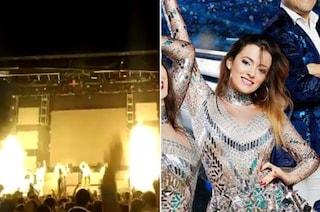Dramma al concerto, la popstar Joana Sainz muore sul palco colpita da un fuoco d'artificio