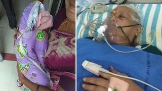 India, donna di 74 anni partorisce due gemelle