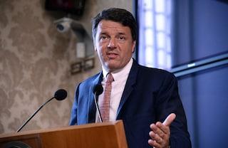 Sondaggi politici, il nuovo partito di Renzi non andrebbe oltre il 5%