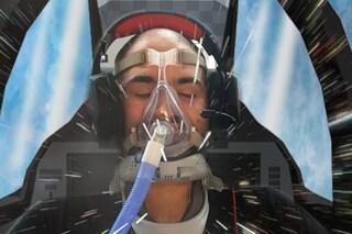 """Paolo, 21enne malato di Sla, diventa pilota: """"Guiderà il drone con gli occhi: prima volta al mondo"""""""