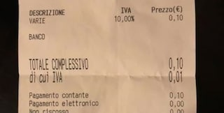 Catania, chiede bicchiere d'acqua per la pillola ma al bar pretendono prima i soldi