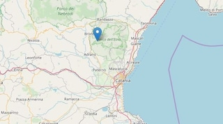Terremoto a Bronte: due scosse in dieci minuti, la più forte di magnitudo 3.1