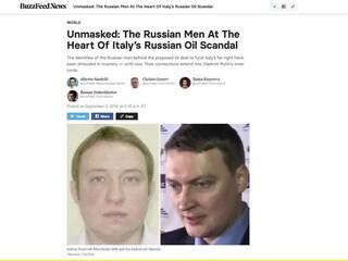 Moscopoli, BuzzFeed rivela: identificati due russi della trattativa al Metropol