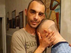 Giovanni Quattrocchi e il figlio Sebastiano (Facebook).