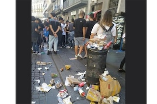 La foto-bufala della spazzatura a terra dopo lo sciopero degli studenti per il clima