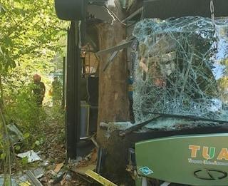 Pescara, autobus di linea si schianta contro alberi: trenta feriti, grave 17enne