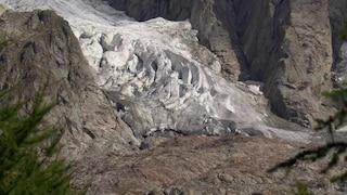 """Allerta Monte Bianco, """"una porzione del ghiacciaio Planpincieux cadrà nei prossimi giorni"""""""