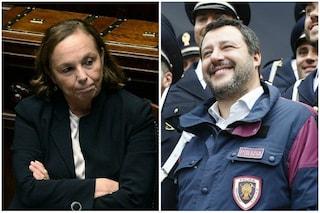 """Lamorgese difende Salvini: """"Possibile uso uniformi di polizia se non si indossa intera divisa"""""""