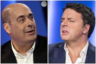 """Manovra, Zingaretti contro Renzi: """"La sua è un'operazione di basso livello, italiani giudicheranno"""""""