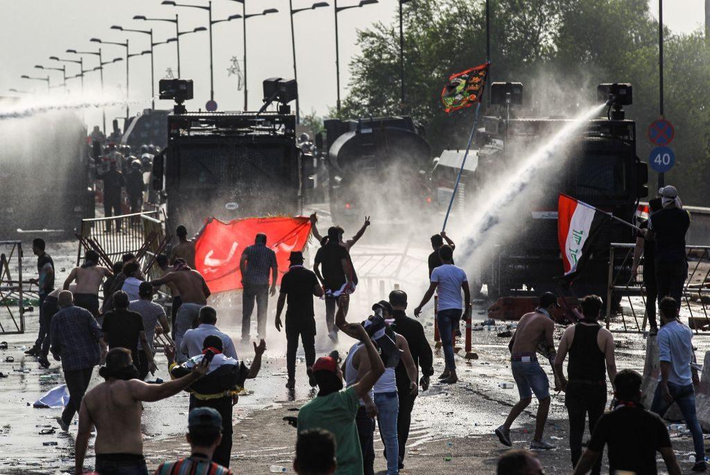 In Iraq, i morti negli scontri con le forze dell'ordine sono oltre 40 (Gettyimages)