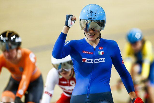 Campionati Europei, oro per Maria Giulia Confalonieri nella corsa a punti