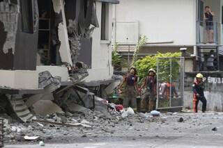Terremoto Filippine, nuova forte scossa di magnitudo 6.5 scuote l'isola di Mindanao