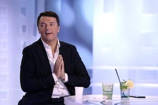 """Matteo Renzi: """"Se Zingaretti fa come Corbyn ci fa un favore. I 5 Stelle? Non esistono più"""""""