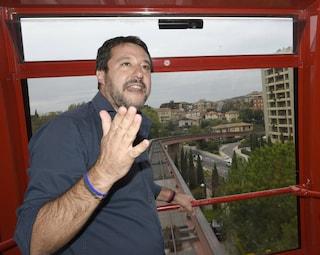 """Umbria, Salvini: """"Conte è il principe delle supercazzole, domenica avrà una lezione di democrazia"""""""