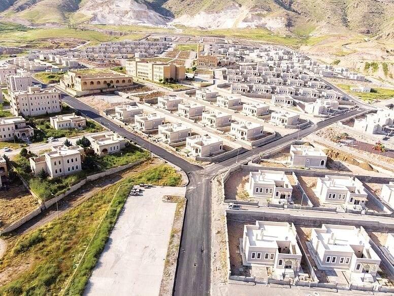 Progetto turco del villaggio che dovrebbe sorgere nel nord–est della Siria per accogliere i rifugiati