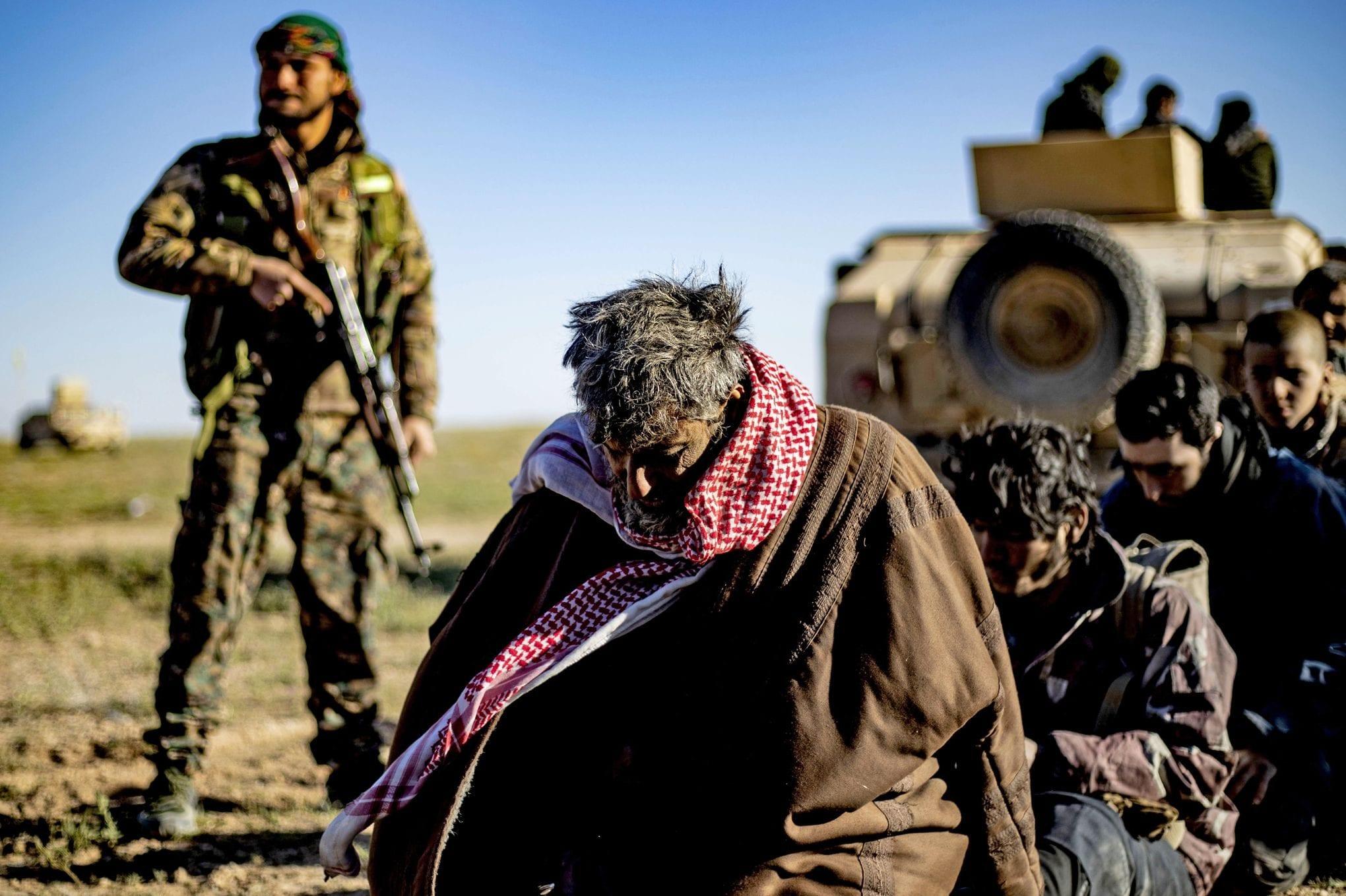 Le Forze democratiche siriane (Sdf) hanno catturato circa 12mila miliziani dell'Isis (Gettyimages)