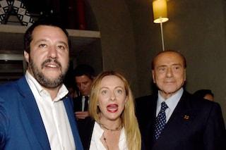 Appello di Berlusconi a Salvini e Meloni per un partito unico del Centrodestra italiano